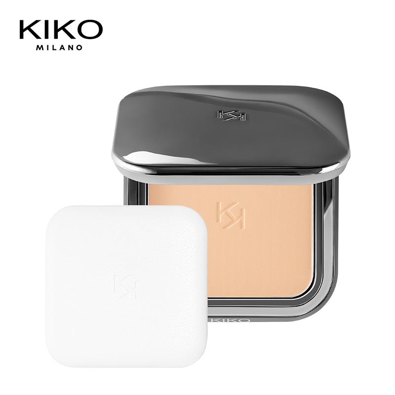KIKO自然哑光雾面粉饼控油保湿修容遮瑕持久定妆彩妆官方正品#