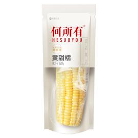 何所有 东北黄糯玉米真空黄黏玉米老玉米棒220gX10支秋收新鲜玉米