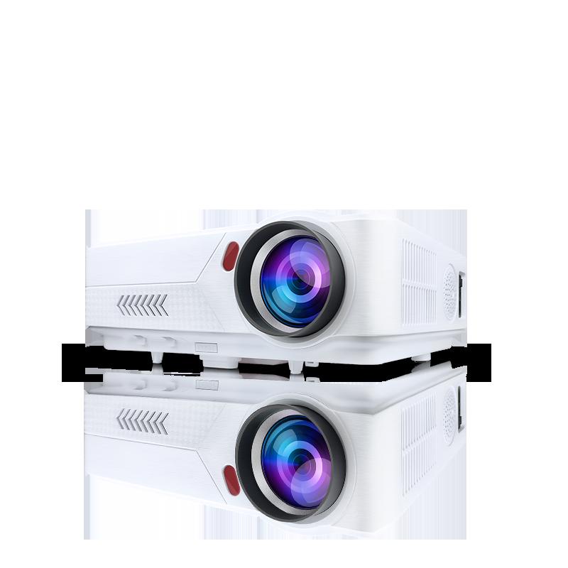 家庭影院小型投影机 3D 智能办公培训 1080p 激光投影 4k 无线便携白天高清 wifi 家用小型 T1 年新款投影仪 2020 亦盾