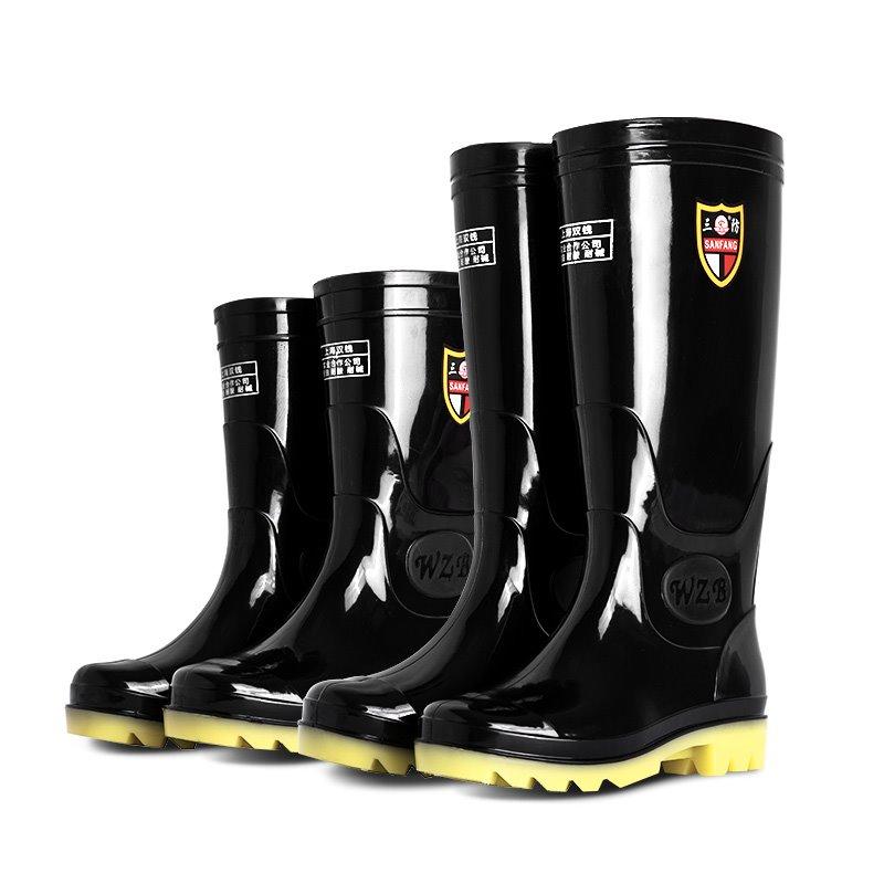 雨鞋男水鞋雨靴短筒男士夏季高筒中筒低帮防滑套鞋防水胶鞋水靴男