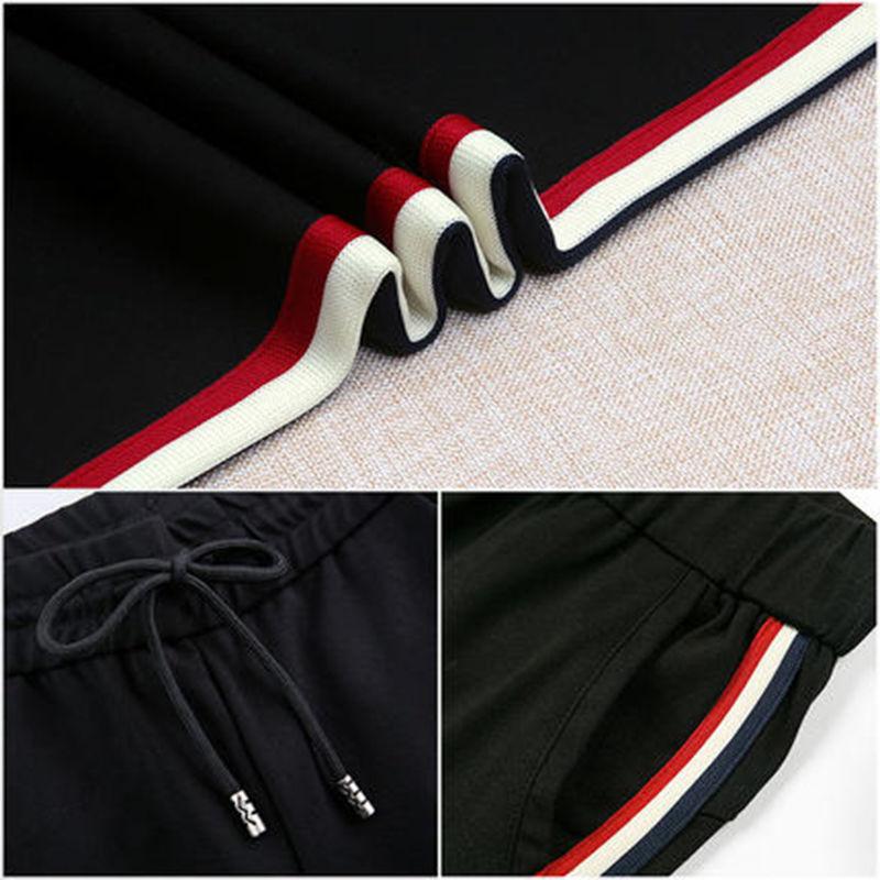 2020春夏新款运动裤女装宽松显瘦长裤直筒女裤子打底裤黑色休闲裤