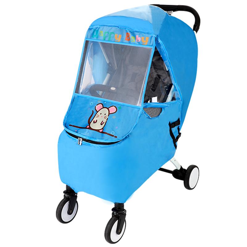 婴儿小车罩通用防风罩儿童冬天保暖挡风套宝宝手推车雨罩冬季雨棚