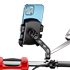 Electric car mobile phone bracket motorcycle takeaway express bicycle road riding bracket battery car navigation fixed