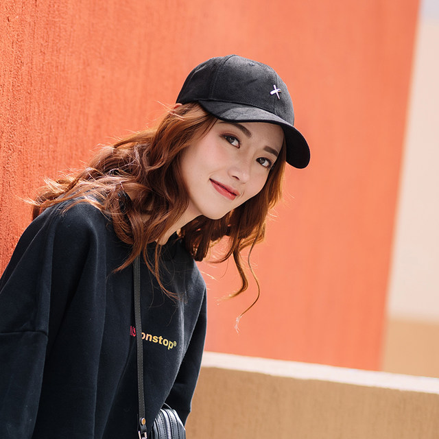 NST XOTIC Long Ribbon NEVER Embroidered Slogan Cap Xiao Zhan The same trendy brand men and women shade baseball cap
