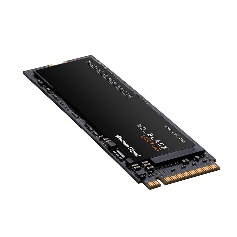 M.2 黑盘 NVMe 笔记本 BLACK 台式机 SSD 固态硬盘 500GB SN750 西部数据 WD
