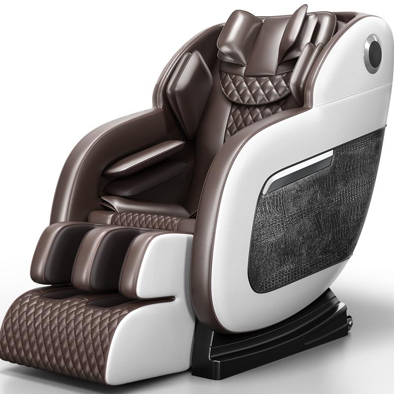奥克斯电动按摩椅家用全自动小型新款太空豪华舱全身多功能老人器