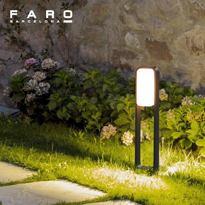Savia草坪灯户外防水柱灯庭院景观灯花园灯别墅园林led柱灯
