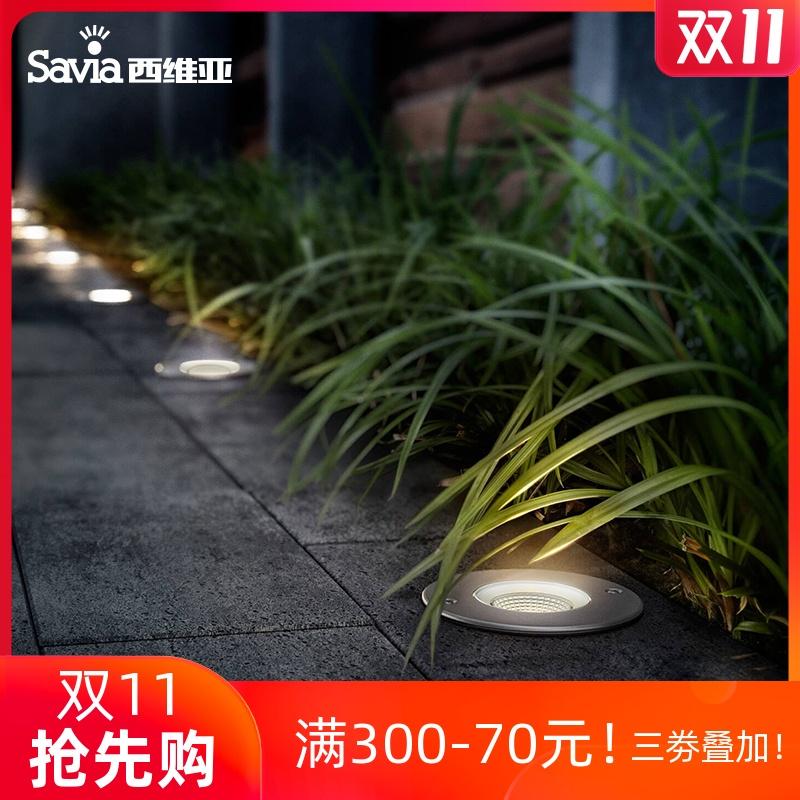 广场花园草坪埋地射灯