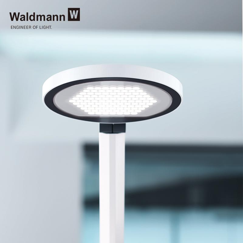 LED 小学生学习书桌卧室阅读防蓝光 进口儿童护眼台灯 Waldmann 德国