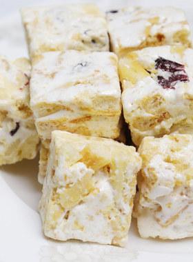 法米诺雪花酥糕点135gx2盒装手工牛扎饼干网红零食牛轧糖休闲食品