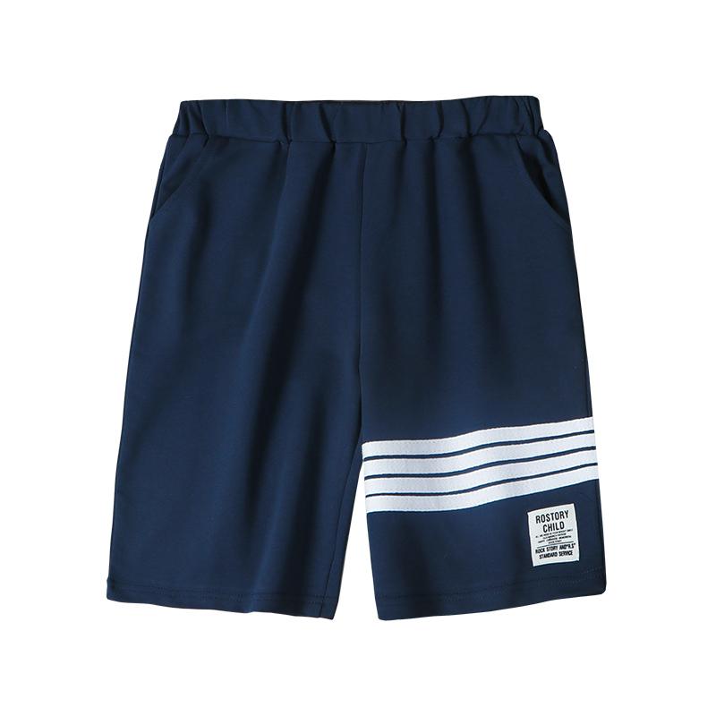 男童裤子夏季薄款短裤外穿 新款儿童中裤中大童五分裤运动夏装  2021