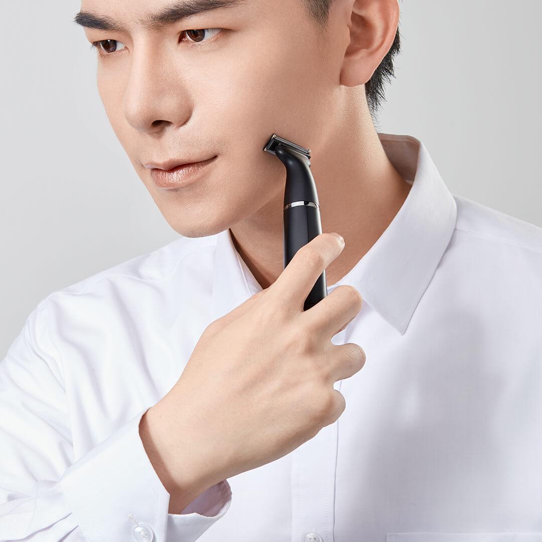 小米有品美森电动剃须刃滦士多功能刮胡刃充电式胡须刃胡子修剪器