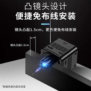 4k无线摄像头超高清mini摄像机连手机远程微型监控器家用夜视探头