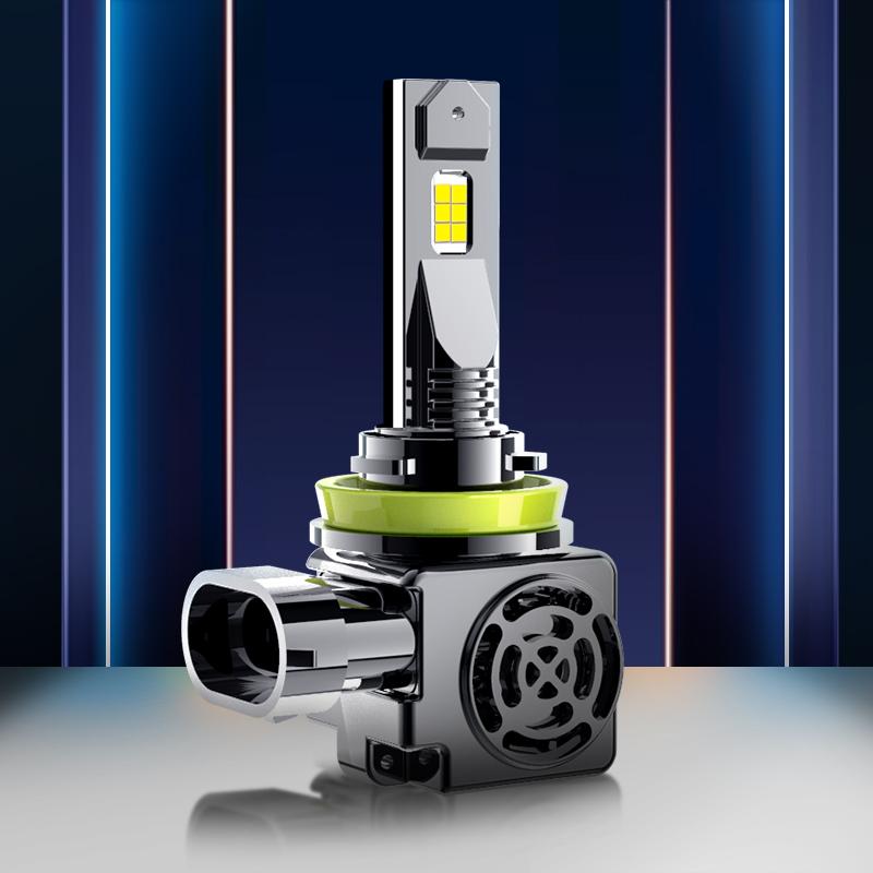 超亮 12v 无线 h4 一体 9012 改装 9005 车灯 h11 强光 h1h7 大灯 LED 鲸特汽车