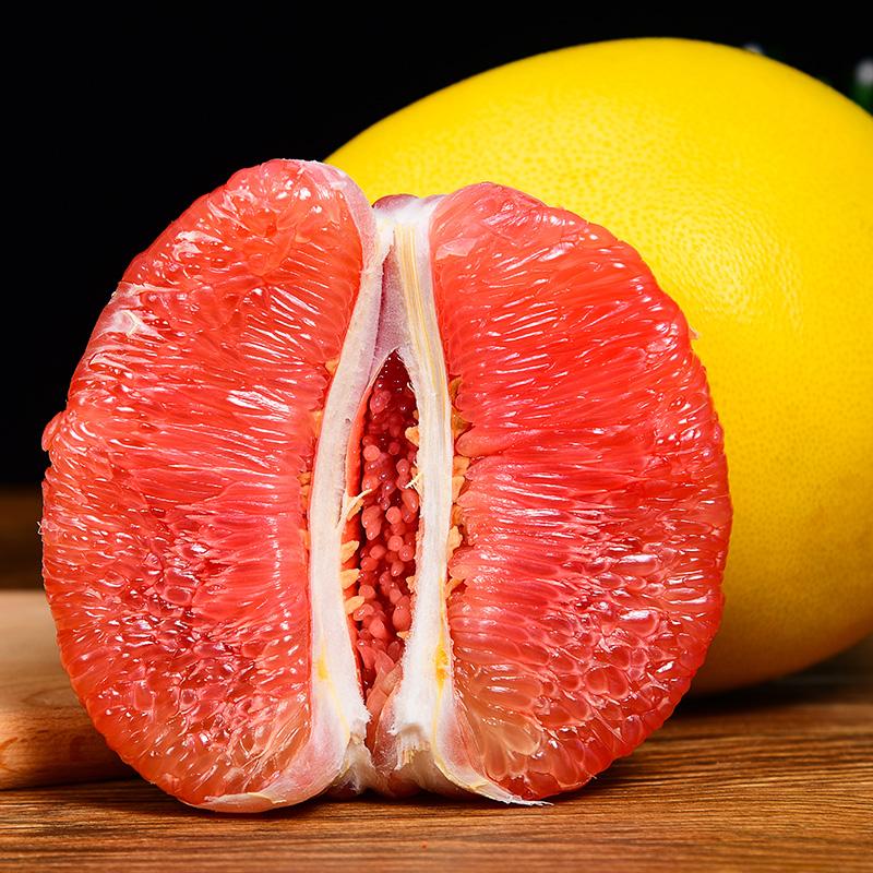 福建平和管溪红心柚子10斤红肉蜜柚三红柚新鲜水果当季整箱5密柚