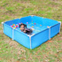 Bracket swimming pool household children adults private large thickened outdoor courtyard folding fishing fish farming paddling pool