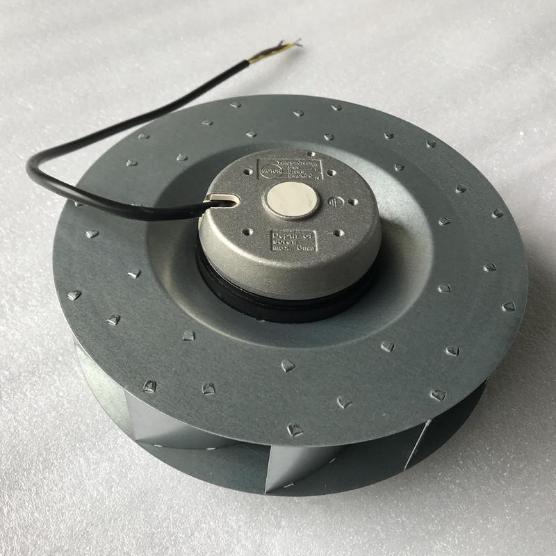 工业侧式抽油烟机EM20S2-MB225*48管道后倾式离心风机排尘鼓风机
