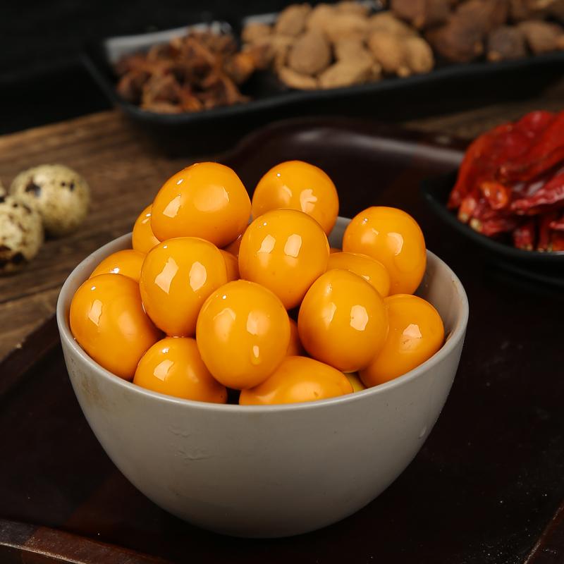 武冠卤蛋去壳鹌鹑蛋即食小吃五香熟卤零食60颗