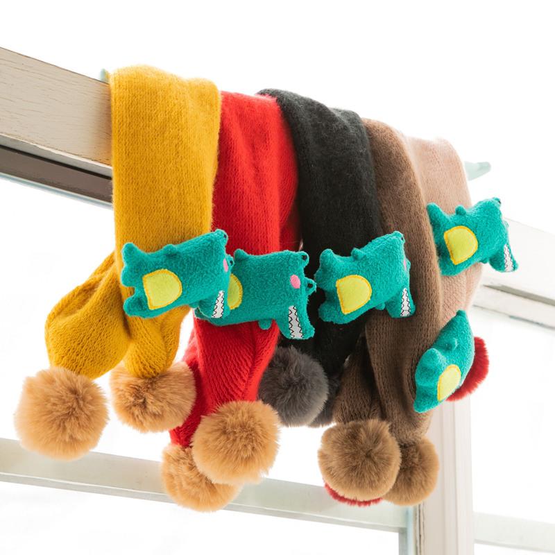 儿童围巾韩版潮秋冬季保暖脖套男童女童小孩婴儿百搭围脖宝宝围巾
