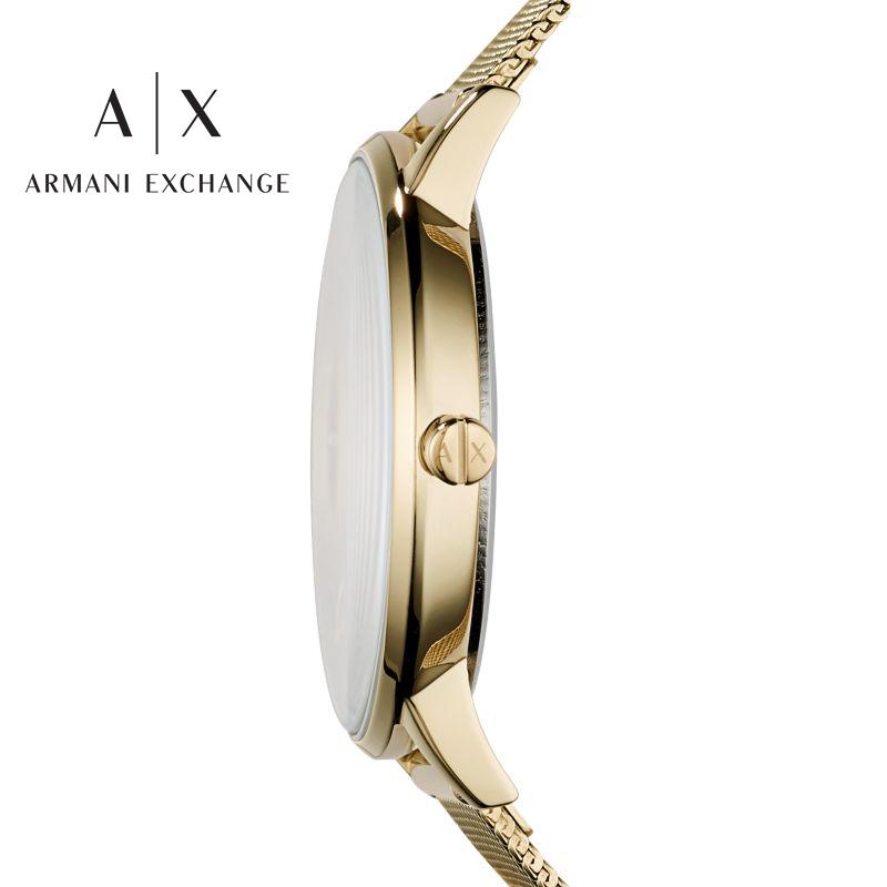 Armani阿玛尼手表女士官方旗舰店正品满天星ins风简约气质AX5536