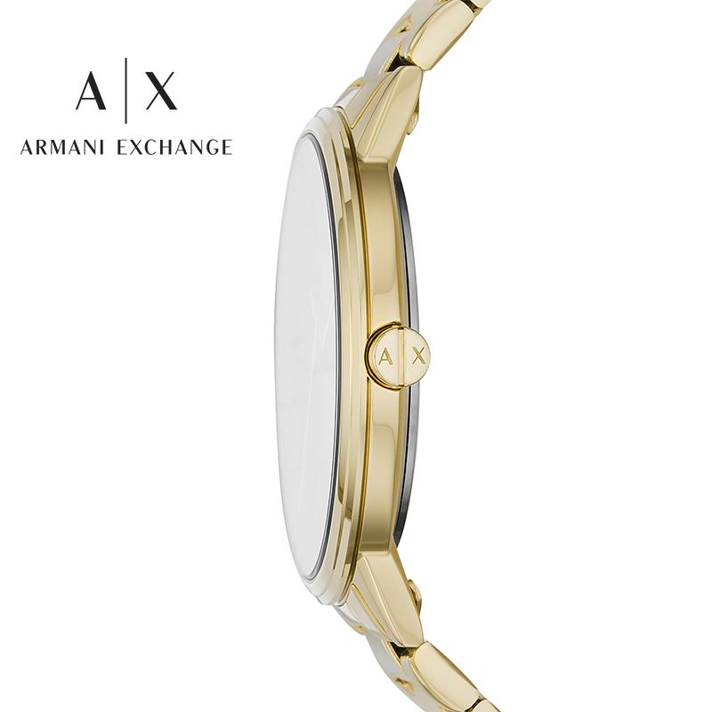 Armani阿玛尼官方正品手腕表男礼盒石英表情人节轻奢腕表AX7119