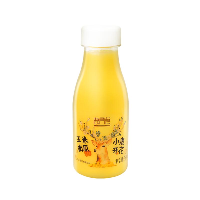 原磨玉米南瓜汁粗粮代餐 鹿角巷 玉米汁南瓜汁 250ML 10瓶整箱