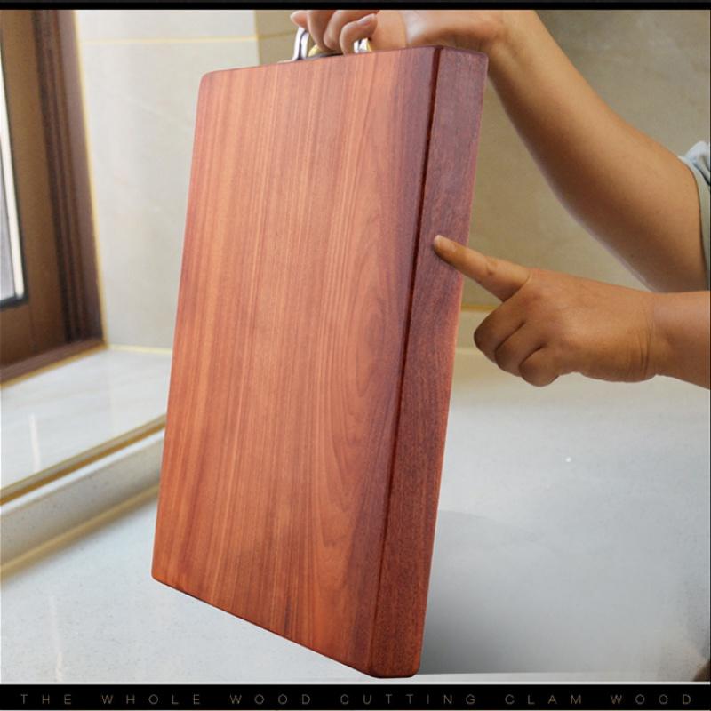 越南进口铁木,整块特厚蚬木,防霉不伤刀:槿致 厨房菜板