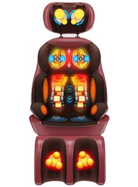 。椅新款电动按摩椅家用全身小型太空豪华舱多功能全自动老人沙。