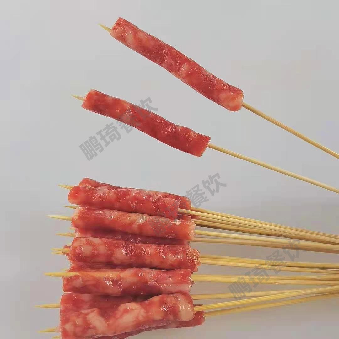 夺命小串鸡肉串牛肉串羊肉串五花肉鸡胗串面筋串烧烤鱿鱼铁板鸭肠 No.3