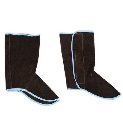 烫电焊方便护加长保护时尚脚气焊鞋面防套火花焊接劳保家用鞋套 mini 4