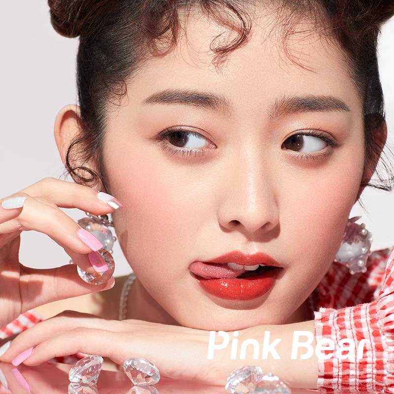 PINKBEAR皮可熊琉光镜面水唇釉小布丁口红女学生唇彩唇蜜官方持久