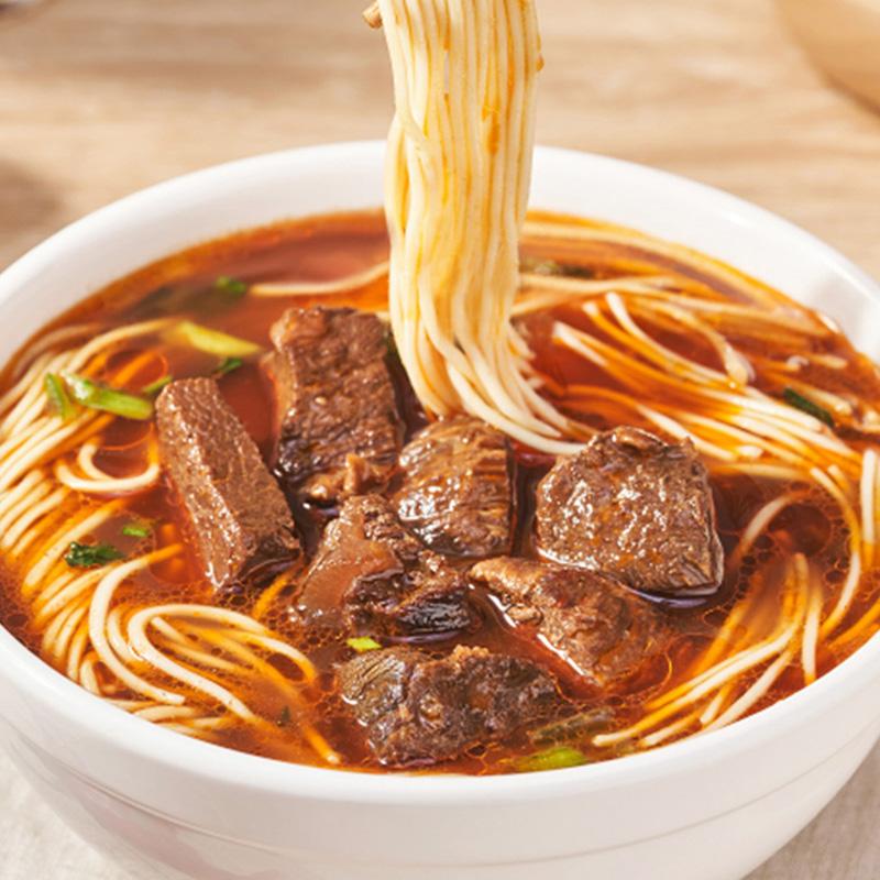 张飞牛肉面红烧香辣拉面方便面整箱速食非油炸面条方便速食拉面条