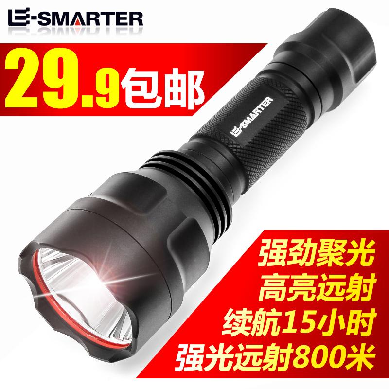 c8 特种兵 LED 户外打猎防水身多功能 5000 手电筒强光可充电超亮远射