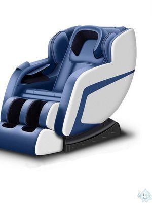 头颈腿部女性躺椅机械太空舱家庭按摩椅全自动家用包裹式摇摇椅。