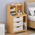 Bedside table heightening shelf simple modern storage cabinet rental bedroom bedside cabinet mini small storage cabinet