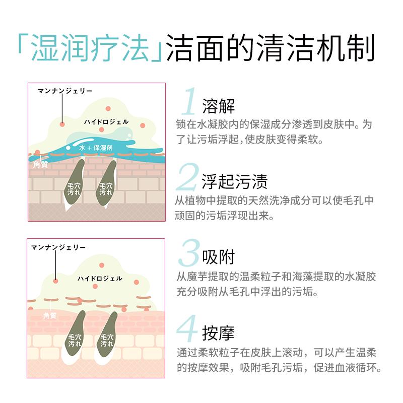 日本进口保湿补水氨基酸洗面奶湿润疗法洁面喱敏感肌男女 PLUEST