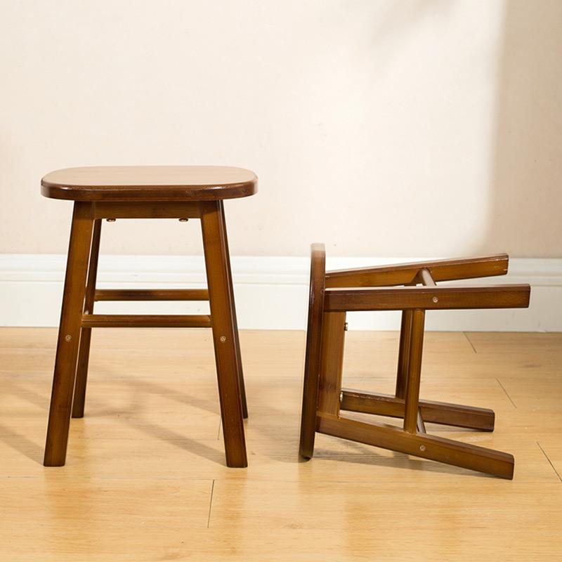 艾品楠竹小凳子时尚创意小板凳儿童矮凳子小方凳圆凳椅子成人家用