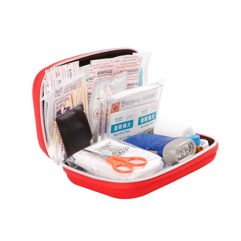 家用便携应急医疗包野外应急救援包车载全套药品收纳急救包医药包