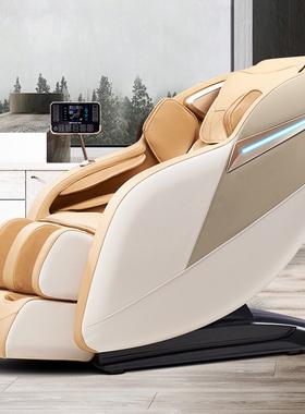居家多功导豪华机言手按摩椅沙发家D用双SL能轨太空舱智能语械家