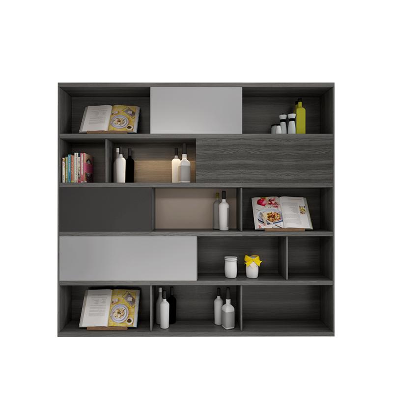 天伦之乐 北欧风格书架书柜组合现代简约储物柜置物架小型书橱
