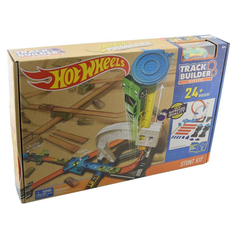 风火轮四合一轨道组合套装DLF28赛道竞技火辣小跑车儿童男孩玩具