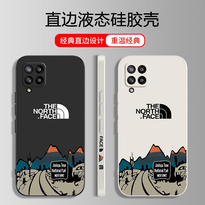 三星a42手机壳Galaxy A42保护硅胶套盖乐世A425g镜头全包SM-A426B液态侧直边软壳防摔北面外壳5G版网红男女款