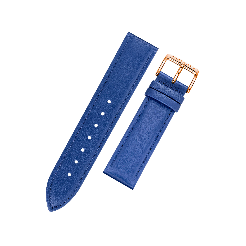 多色彩时尚潮流男手表牛皮表带 20mm 表头宽 唯路时石英表男士表带