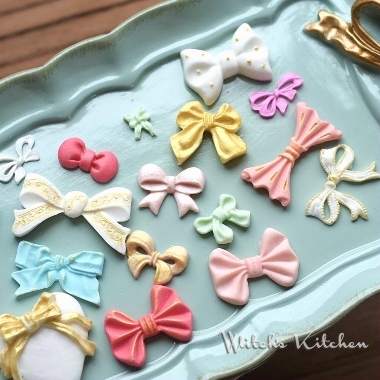 矽膠翻糖巧克力黏土手工皁模具萬用小蝴蝶結綜合多款可選