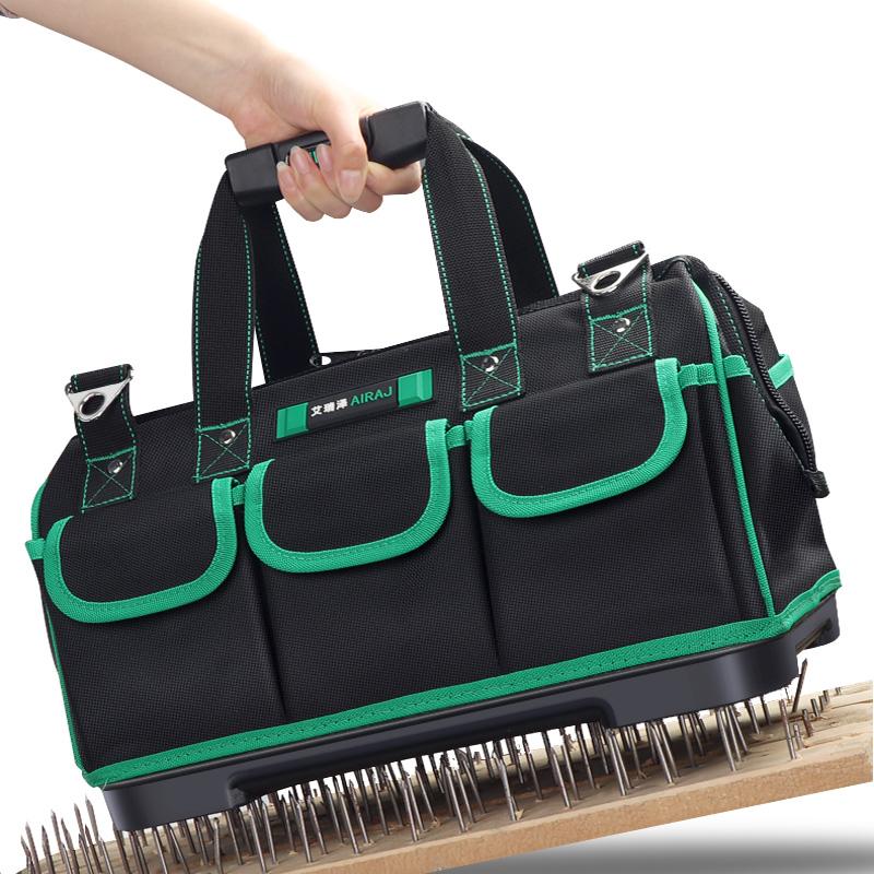 电工具包手提多功能安装维修专用收纳包帆布大加厚小号耐磨工具袋