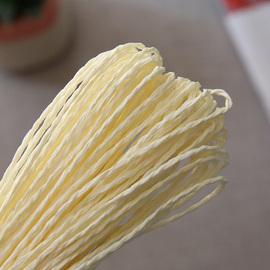 纸草日本和纸线棉草拉菲 夏季编织草帽布条钩帽子的线 编织材料包