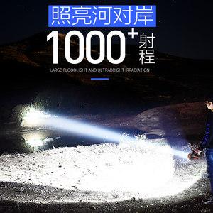 沃尔森led强光手电筒充电灯超亮远射5000户外探照家用手提灯户外