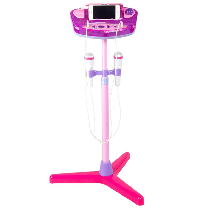 儿童麦克风话筒玩具 可充电扩音卡拉ok ktv唱歌机宝宝音乐玩具