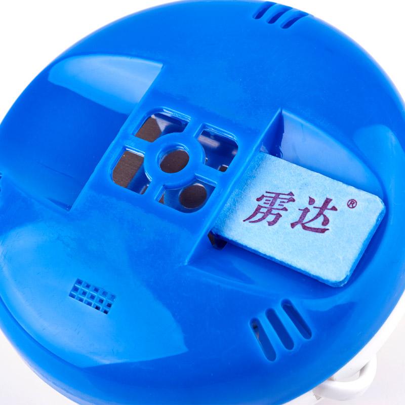 雳达电热蚊香片90片无味型送拖线电蚊香加热器 电蚊香套装驱蚊器