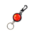 Automatic retractable high resilience steel wire rope retractable creative key chain door key anti-lost anti-theft easy pull buckle